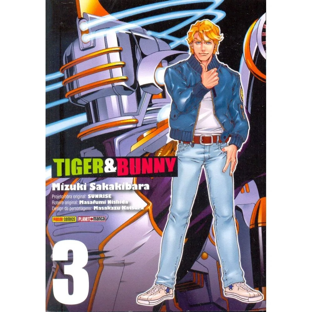 Tiger & Bunny - Volume 03 - Usado