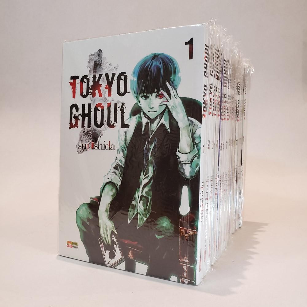 Tokyo Ghoul - 1 ao 14 - Coleção Completa - Pack