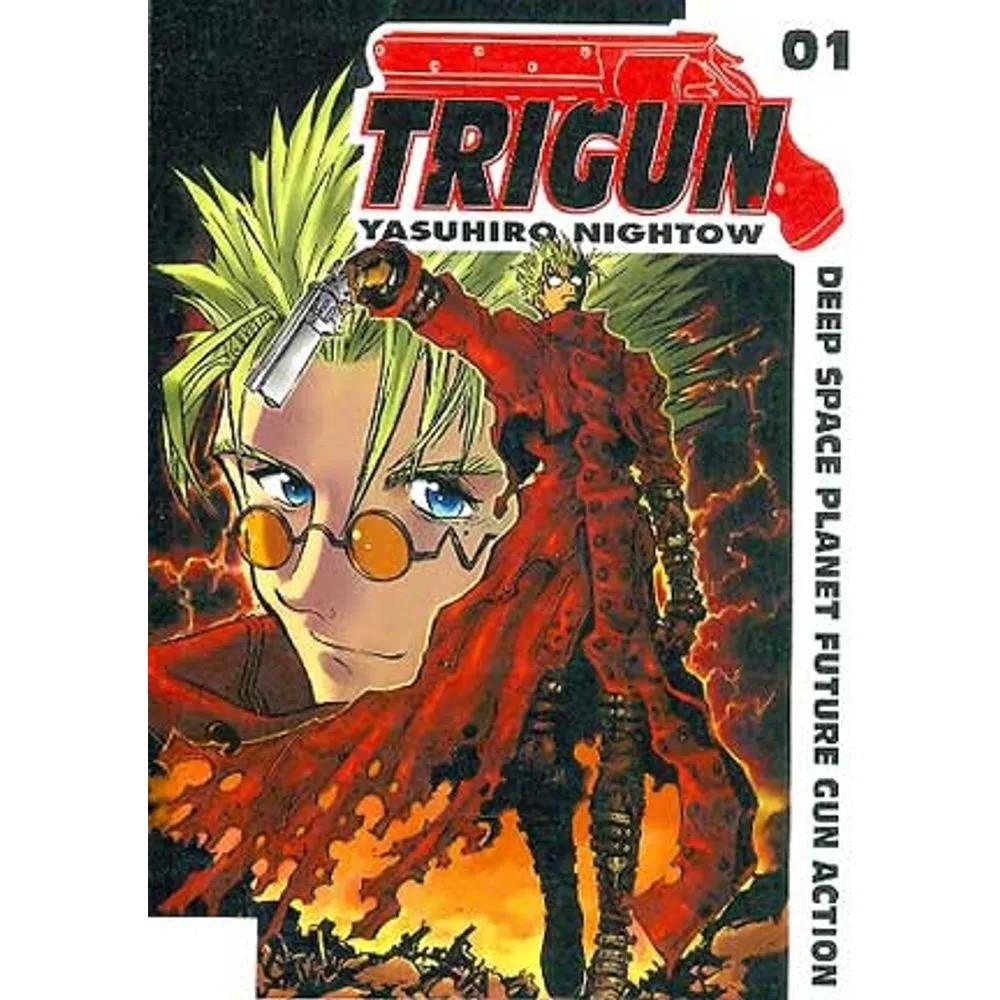Trigun 1ª Edição - Volume 01 - Usado