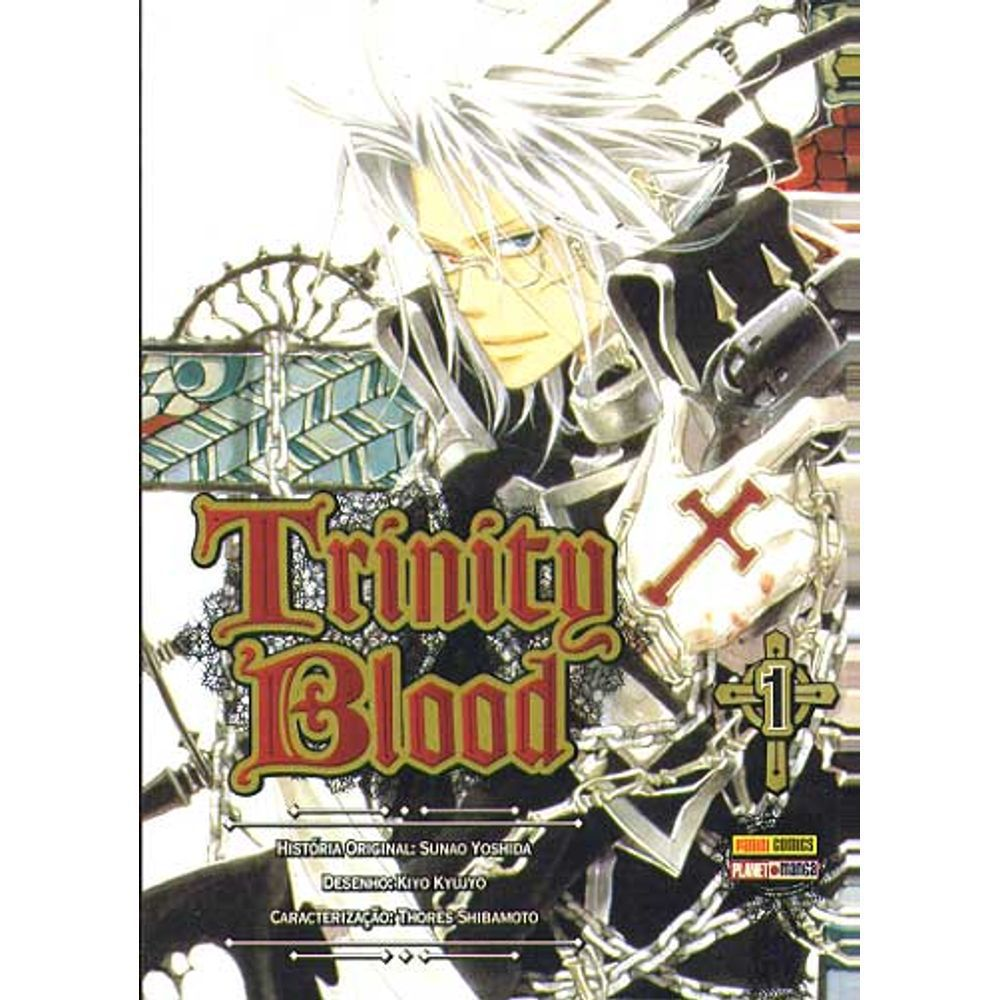 Trinity Blood - Volume 01 - Usado