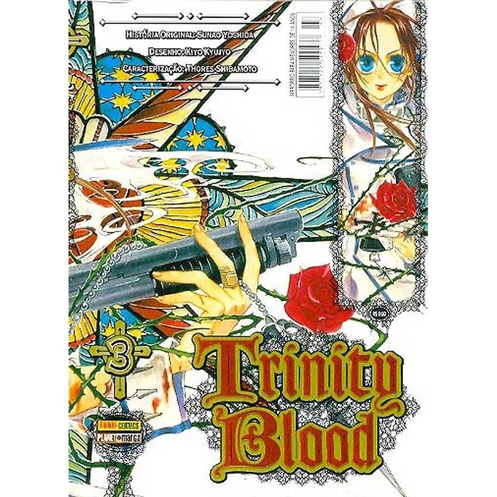 Trinity Blood - Volume 03 - Usado