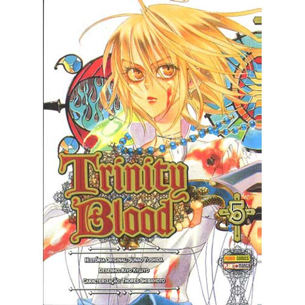 Trinity Blood - Volume 05 - Usado