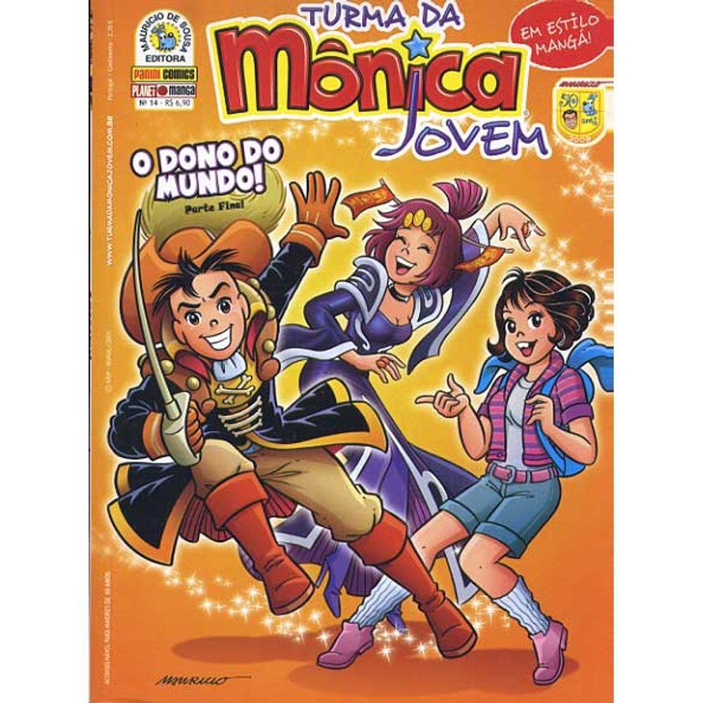 Turma da Mônica Jovem - Volume 14 - Usado