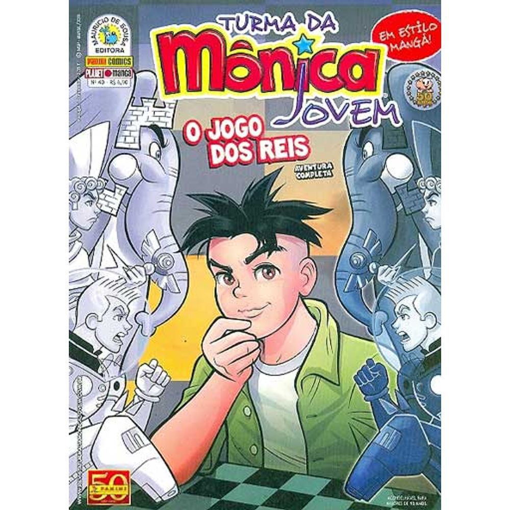 Turma da Mônica Jovem - Volume 40 - Usado
