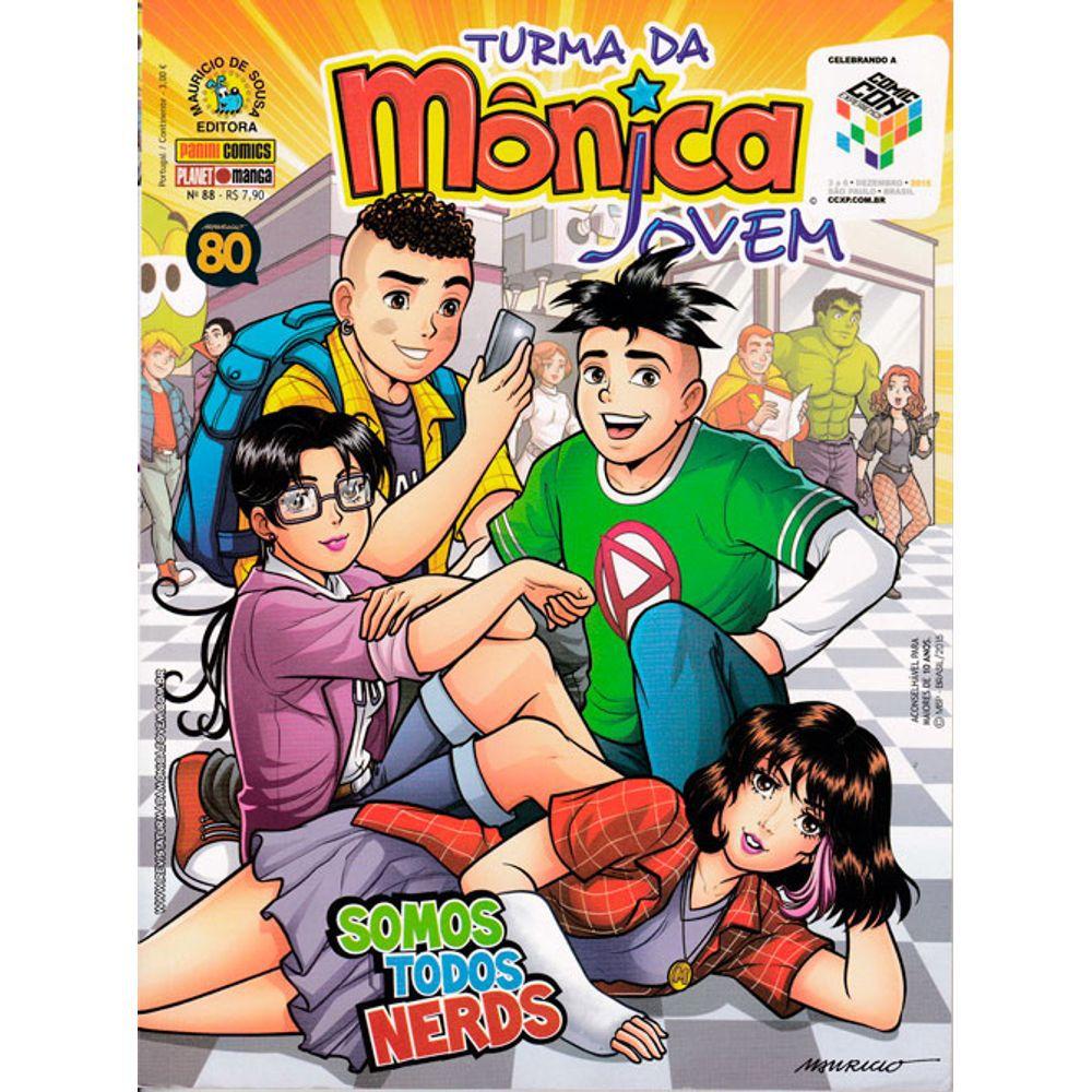 Turma da Mônica Jovem - Volume 88 - Usado