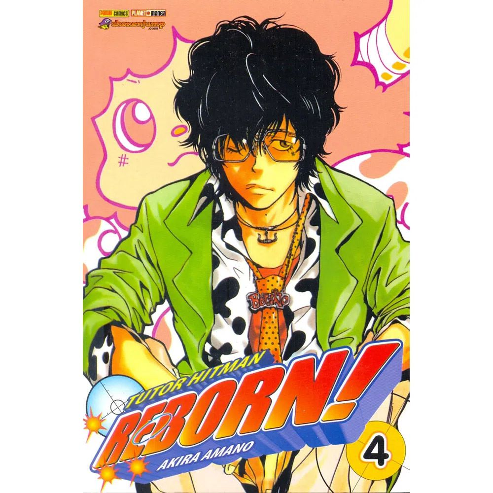Tutor Hitman Reborn! / Katekyo Hitman Reborn! - Volume 04 - Usado