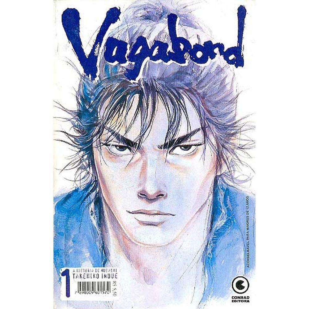 Vagabond - 1ª Edição - Volume 01 - Usado