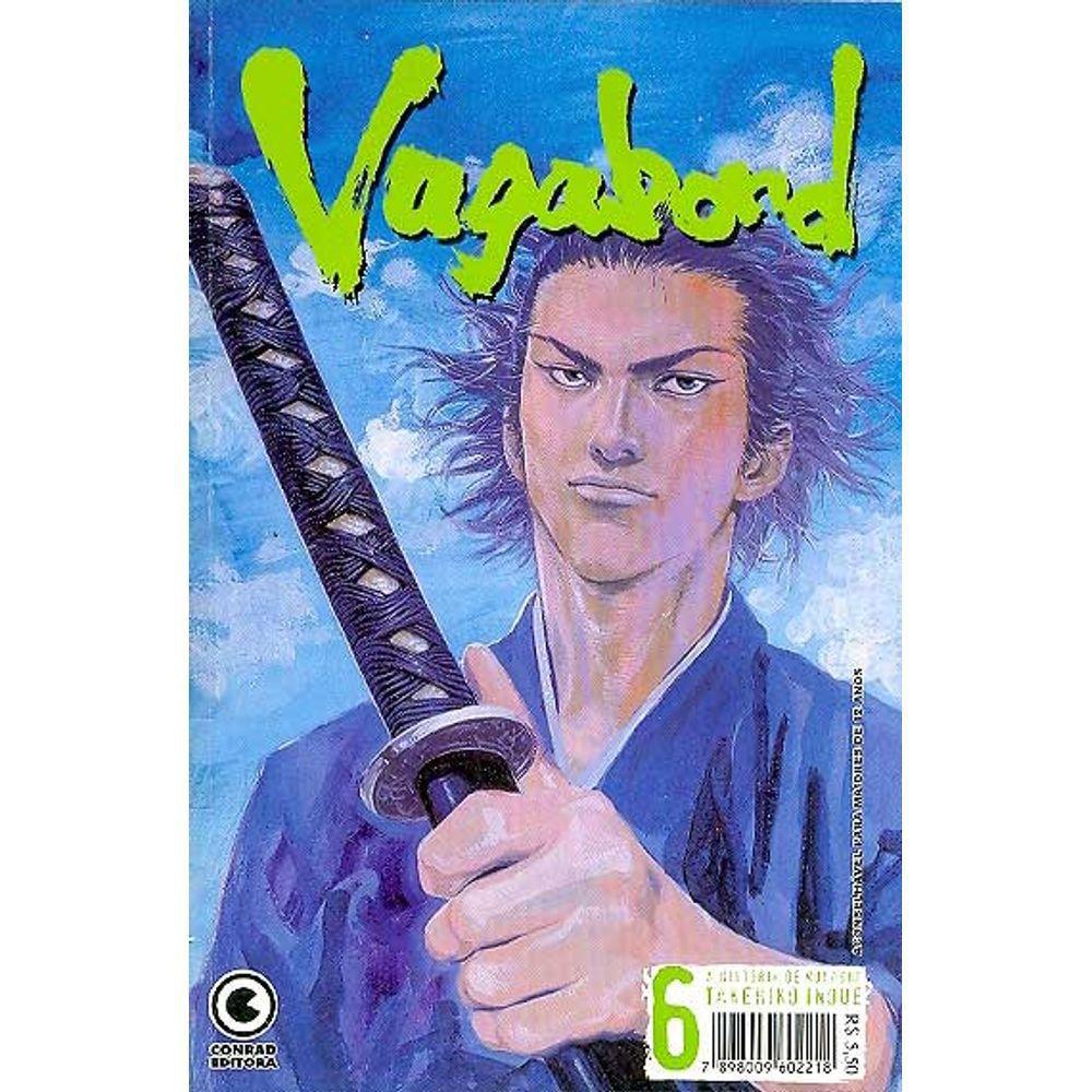Vagabond - 1ª Edição - Volume 06 - Usado