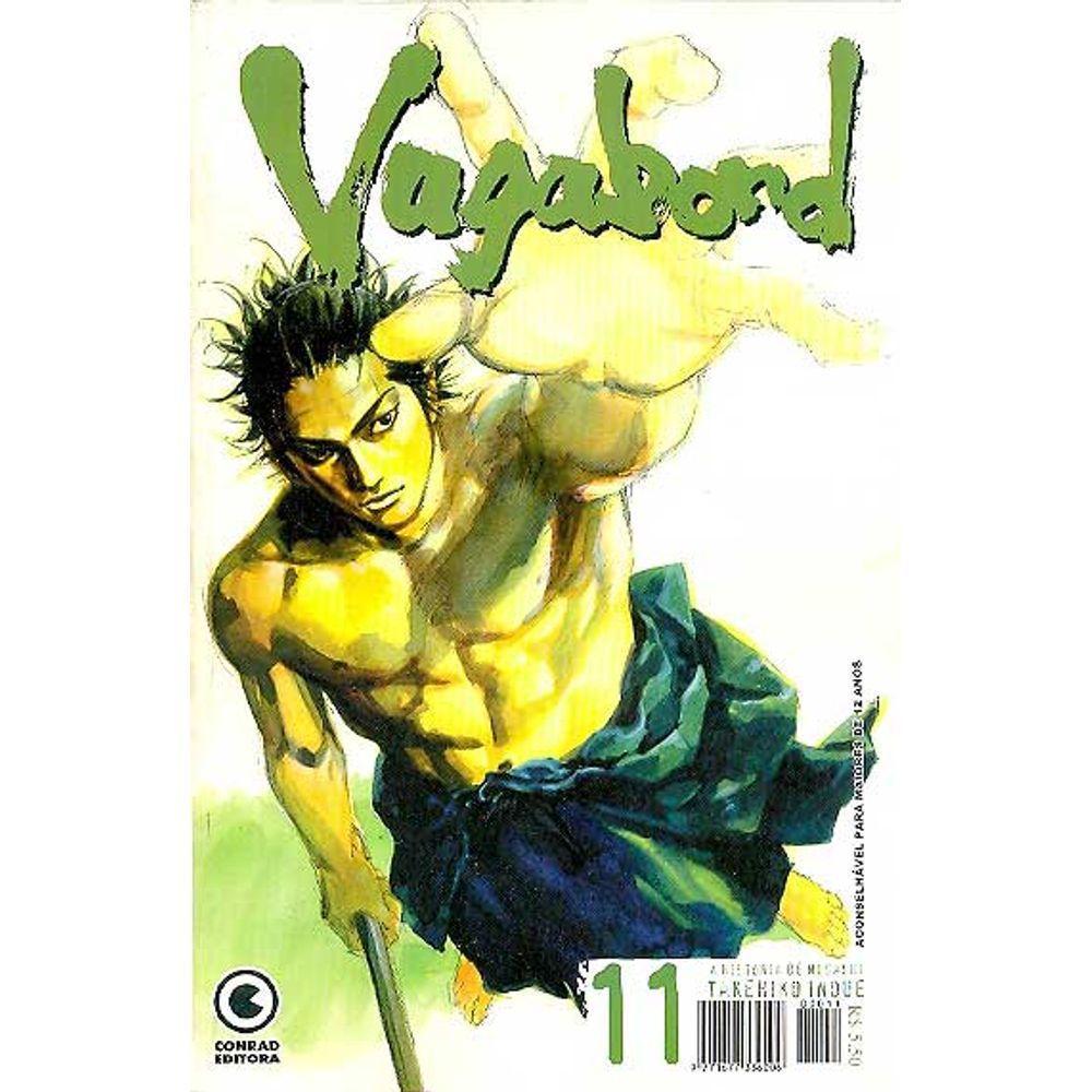 Vagabond - 1ª Edição - Volume 11 - Usado