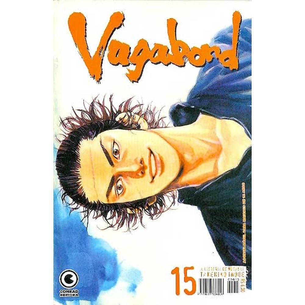 Vagabond - 1ª Edição - Volume 15 - Usado