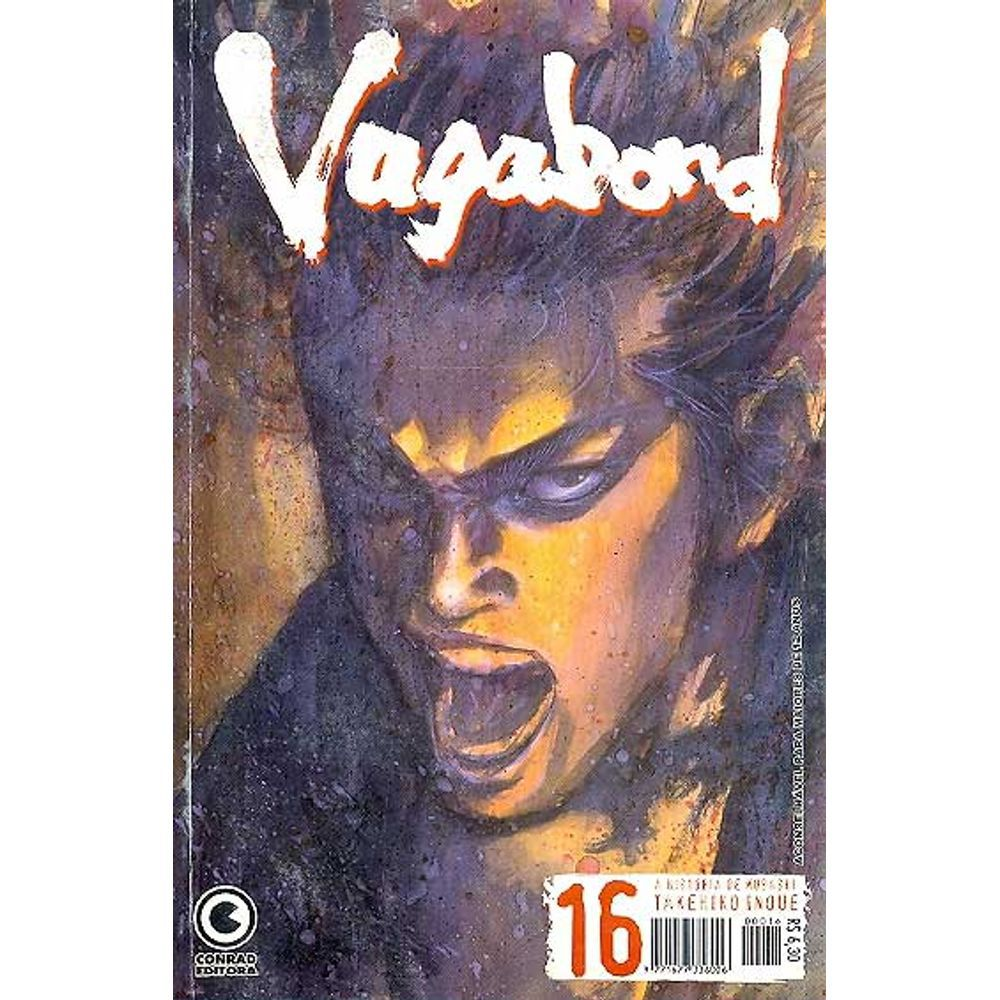 Vagabond - 1ª Edição - Volume 16 - Usado