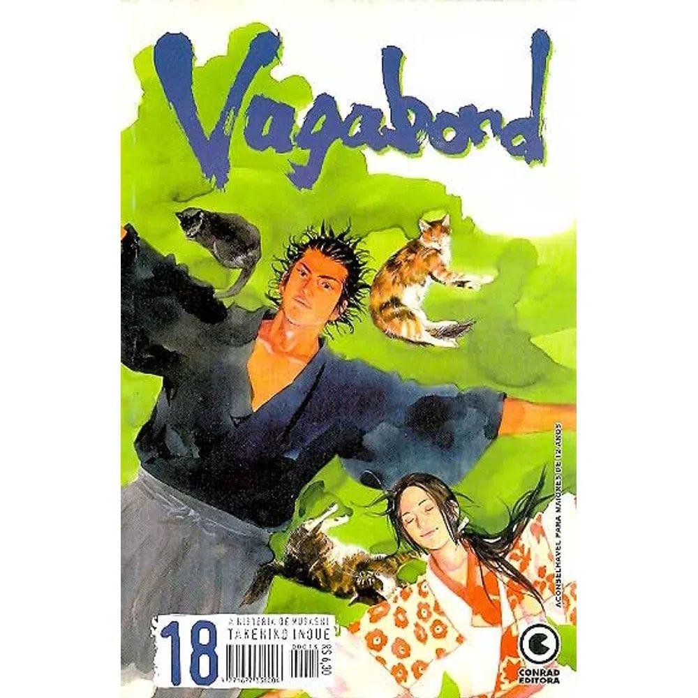 Vagabond - 1ª Edição - Volume 18 - Usado