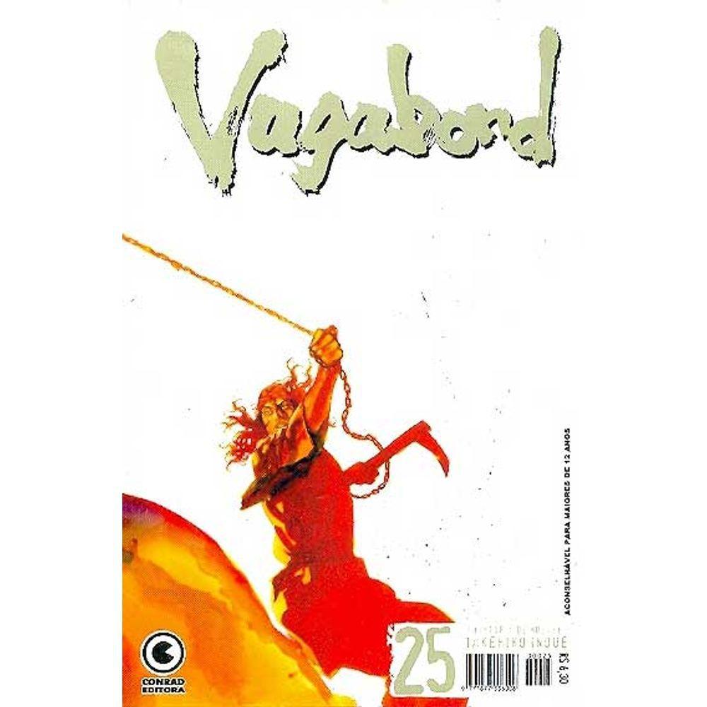 Vagabond - 1ª Edição - Volume 25 - Usado
