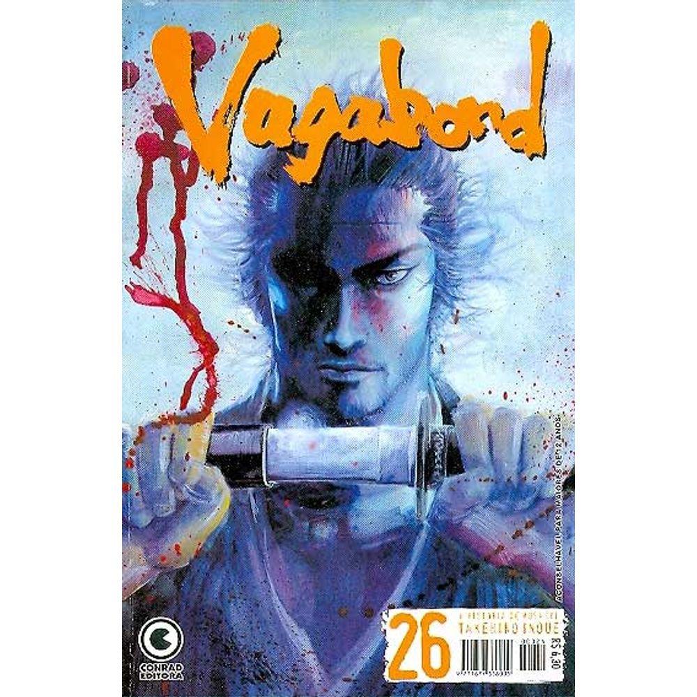 Vagabond - 1ª Edição - Volume 26 - Usado