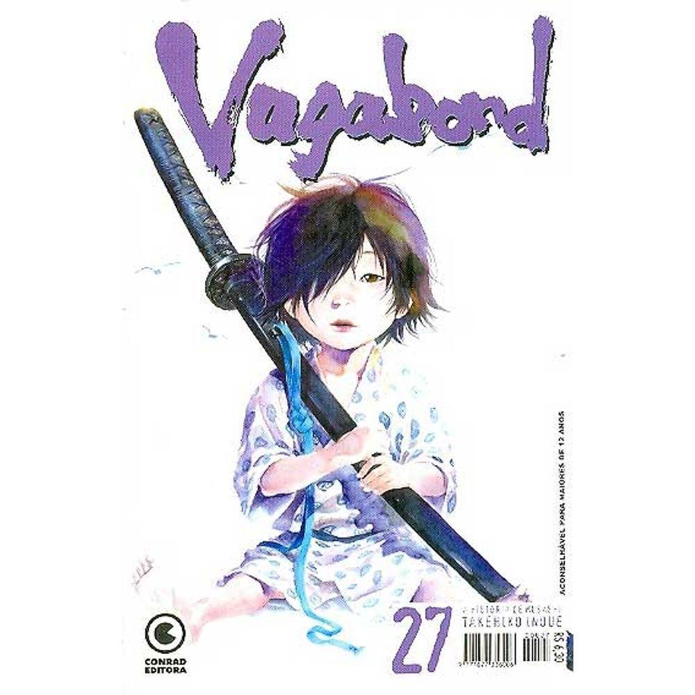 Vagabond - 1ª Edição - Volume 27 - Usado