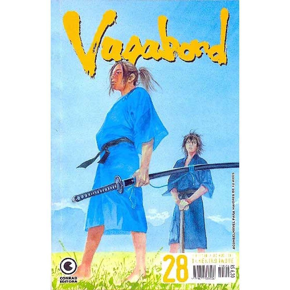 Vagabond - 1ª Edição - Volume 28 - Usado