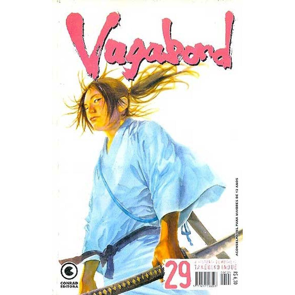 Vagabond - 1ª Edição - Volume 29 - Usado