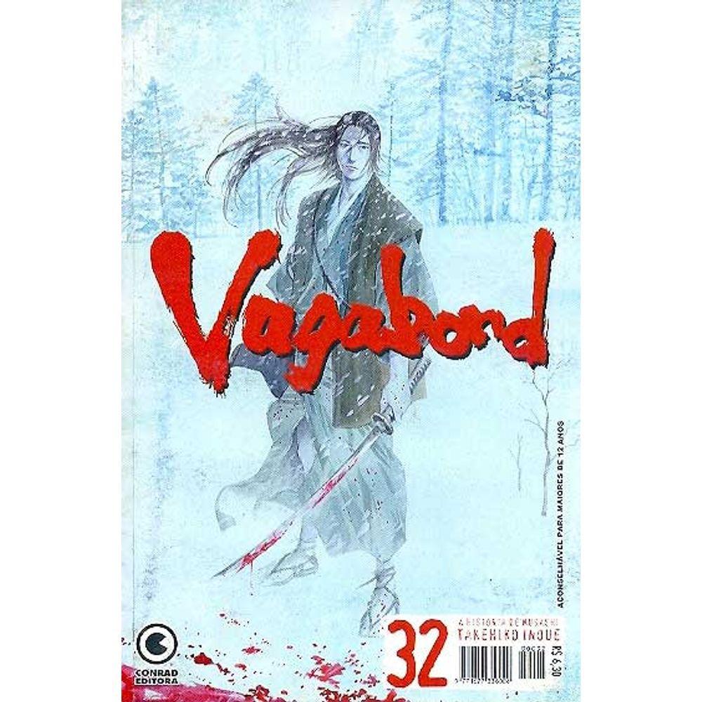 Vagabond - 1ª Edição - Volume 32 - Usado