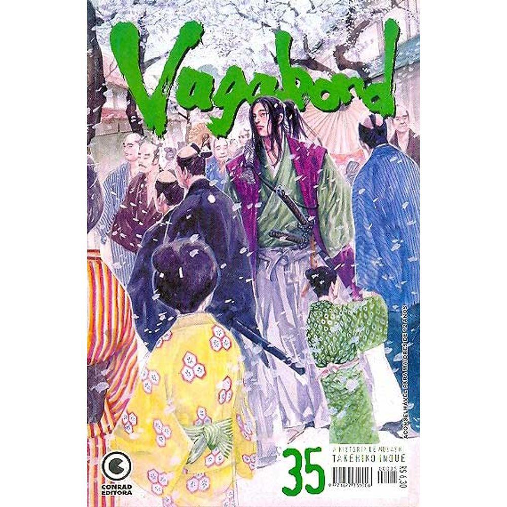 Vagabond - 1ª Edição - Volume 35 - Usado