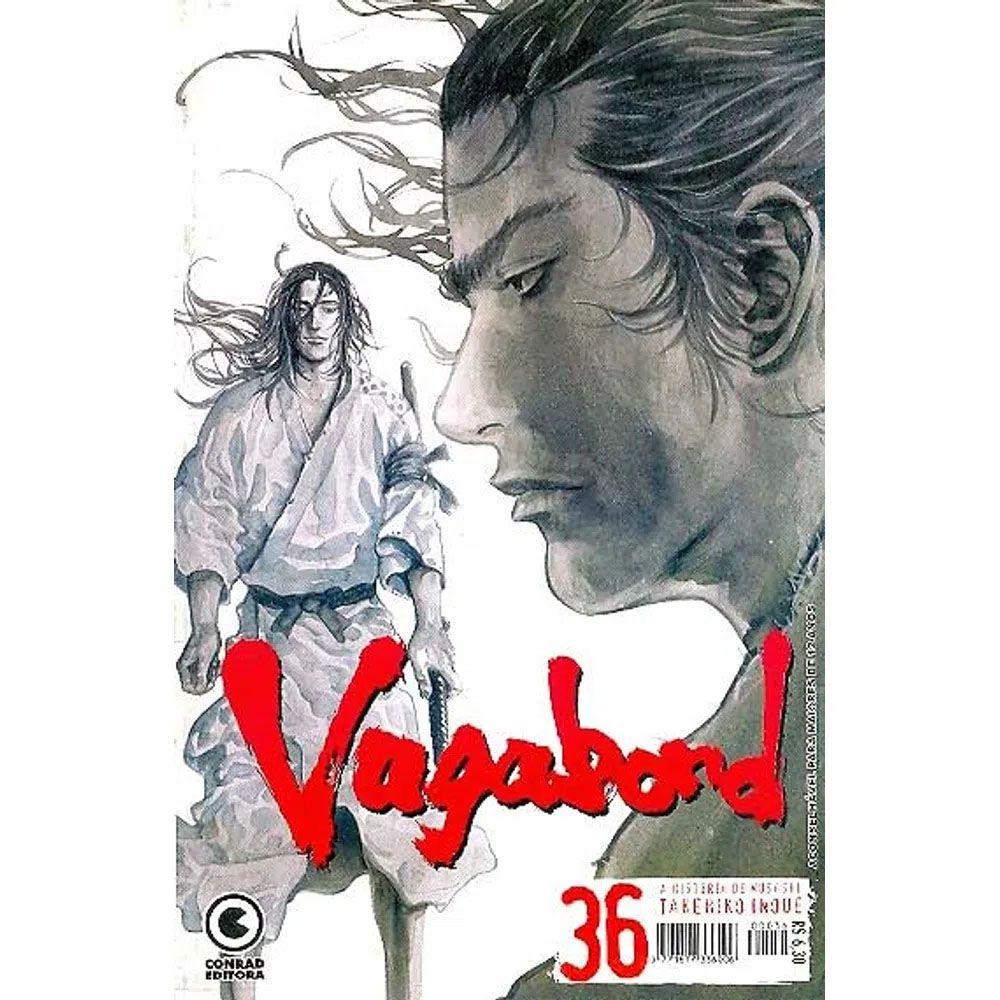 Vagabond - 1ª Edição - Volume 36 - Usado