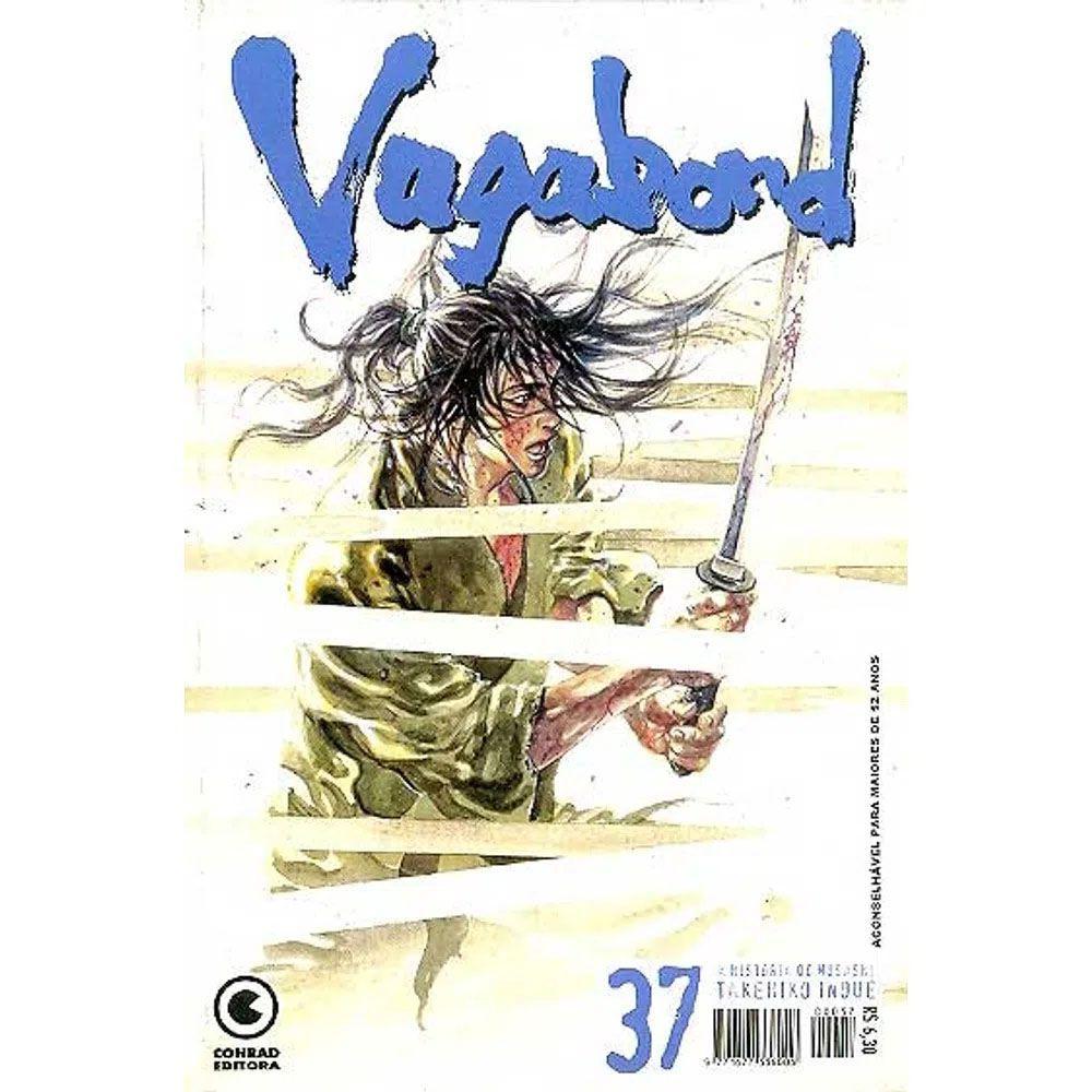 Vagabond - 1ª Edição - Volume 37 - Usado