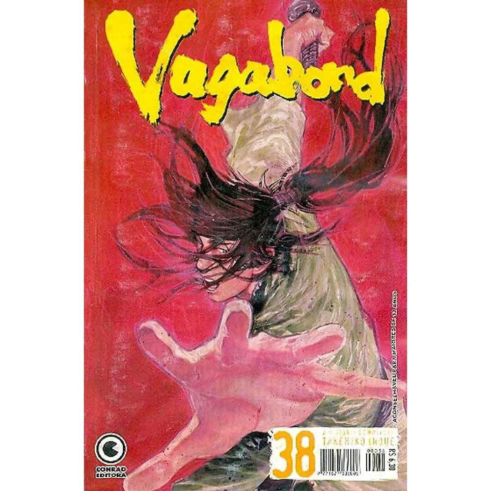 Vagabond - 1ª Edição - Volume 38 - Usado
