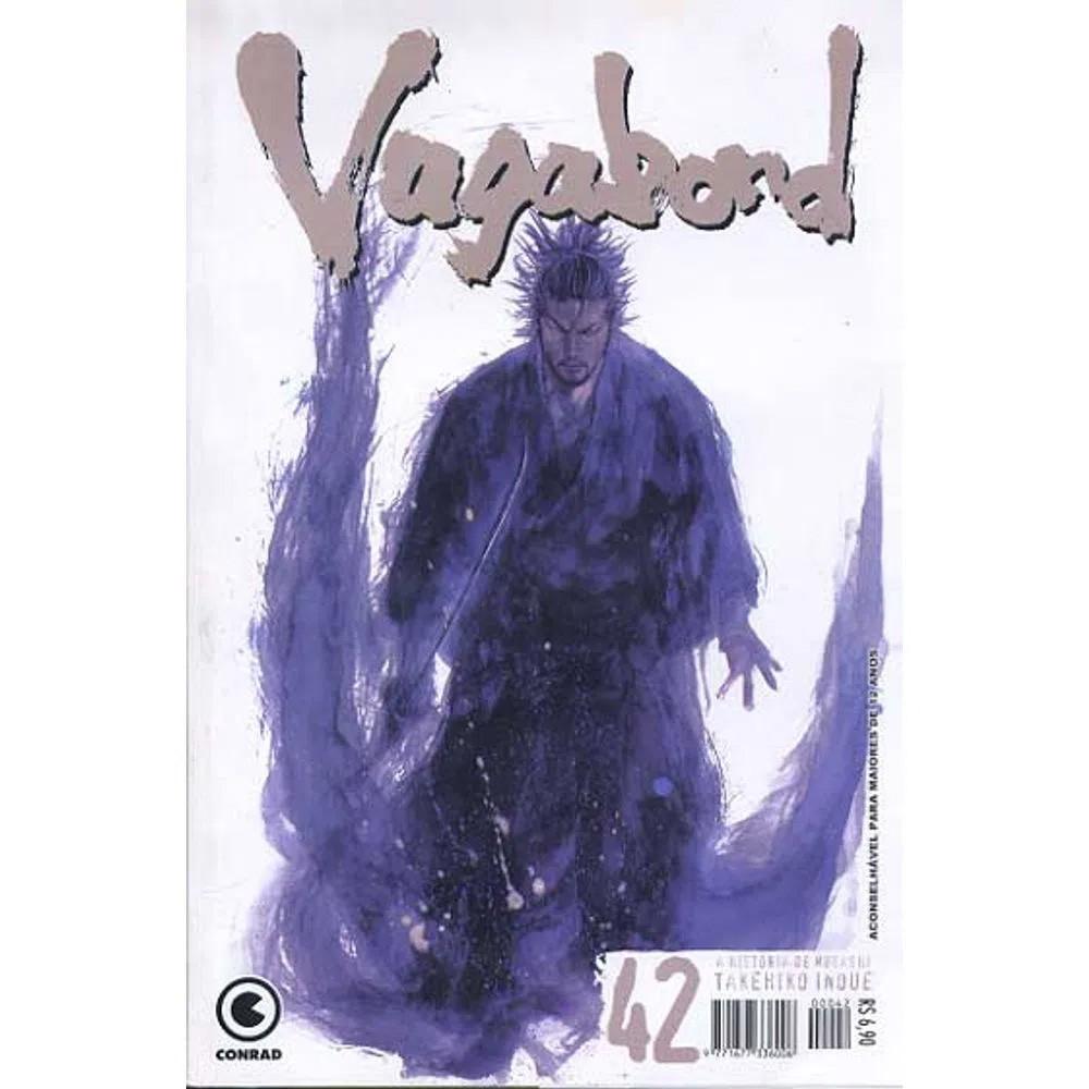 Vagabond - 1ª Edição - Volume 42 - Usado