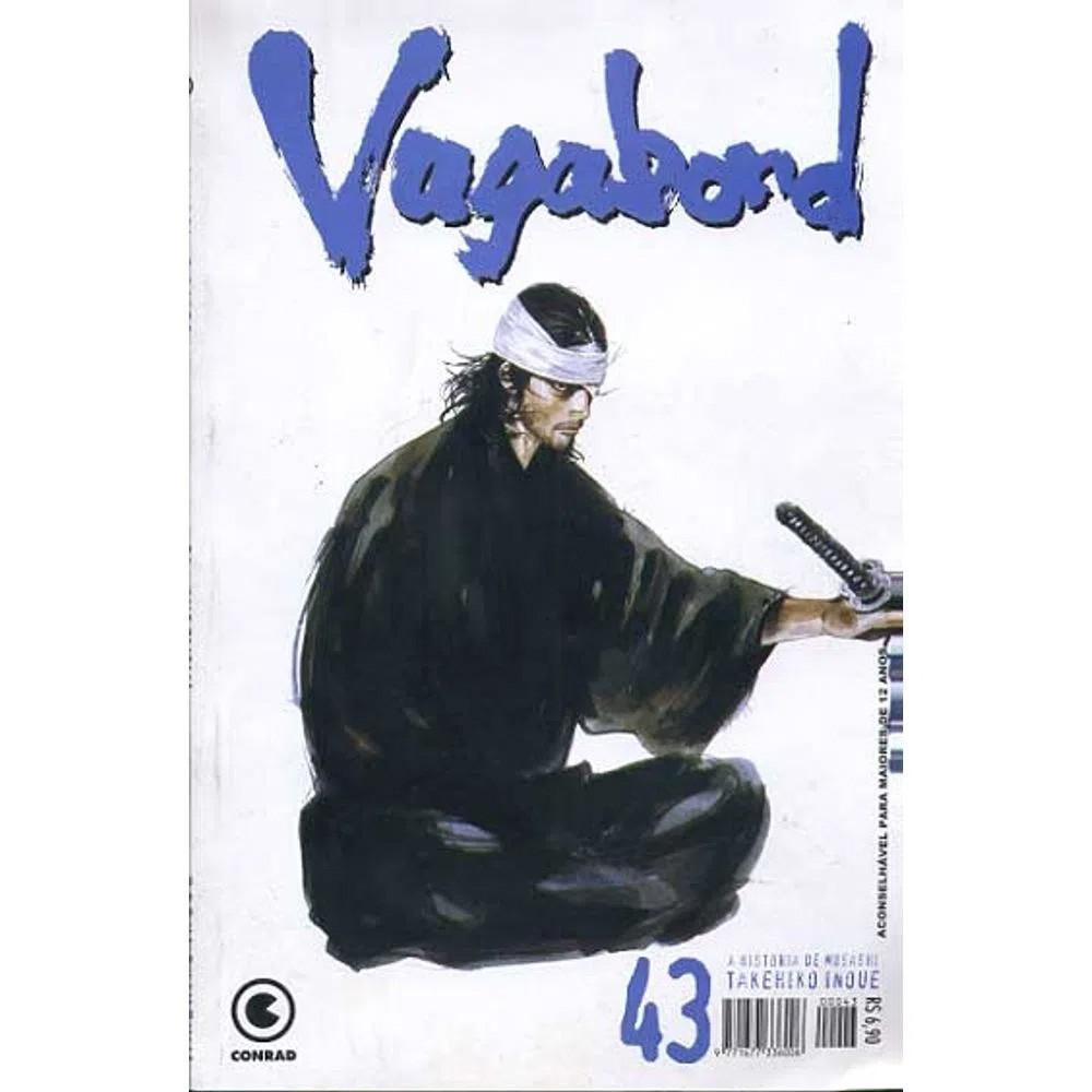Vagabond - 1ª Edição - Volume 43 - Usado