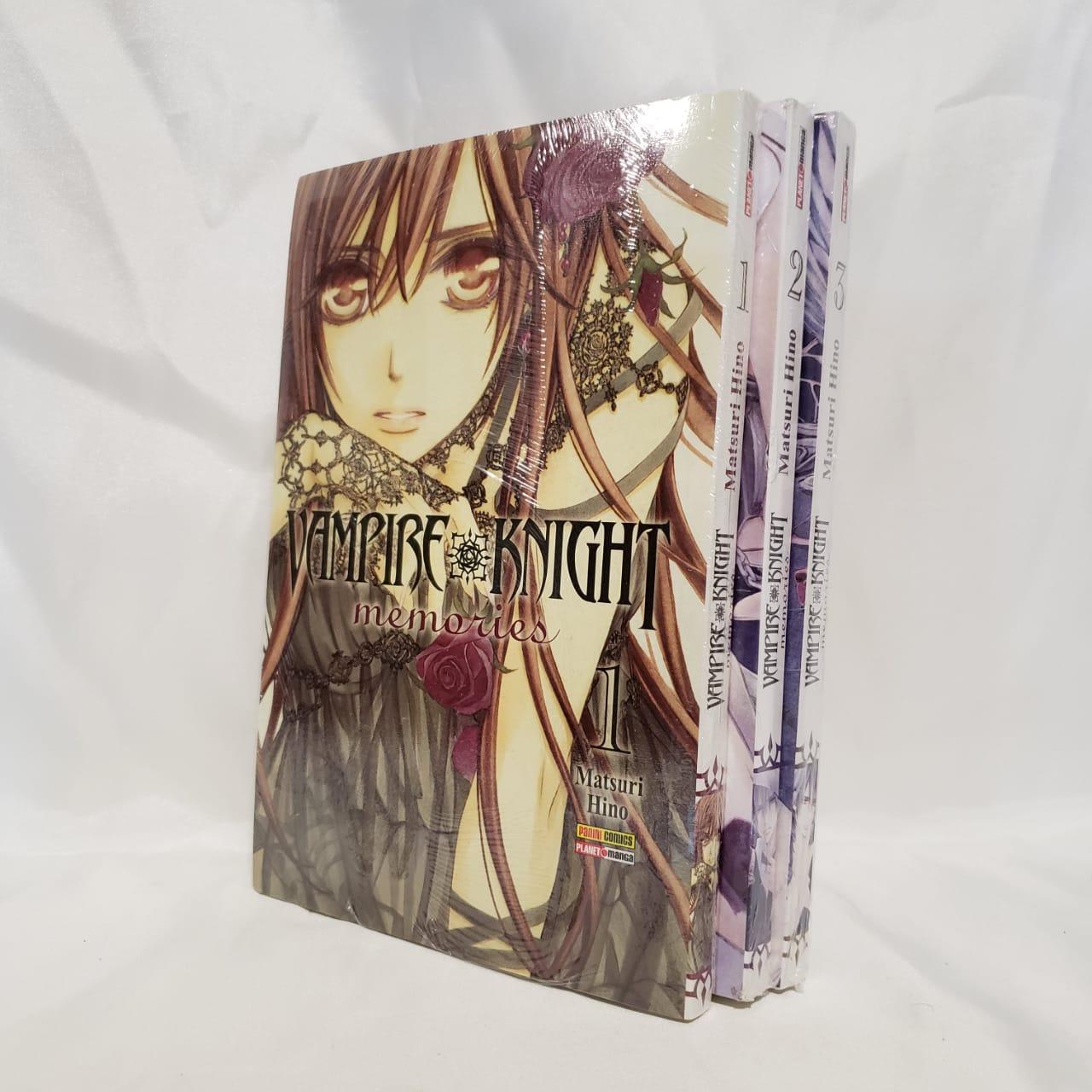 Vampire Knight Memories -1 ao 3 - Pack