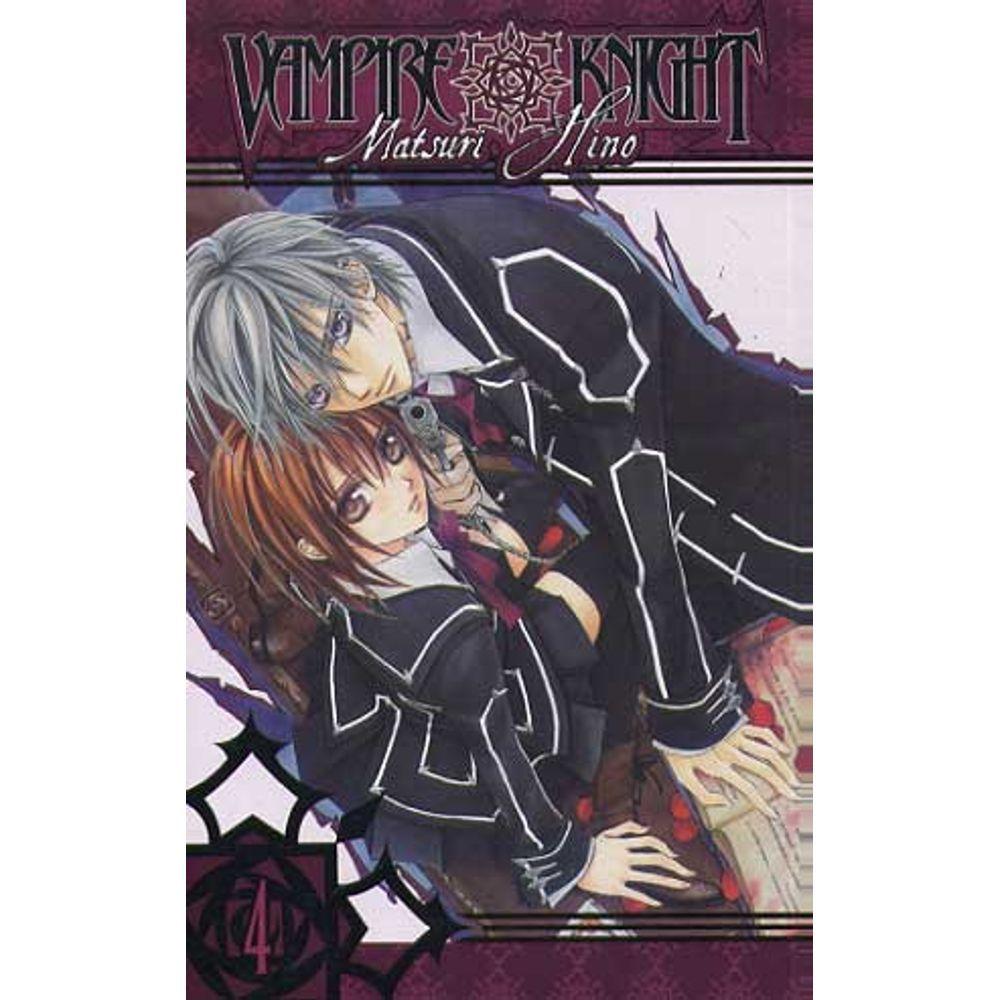 Vampire Knight - Volume 04 - Usado