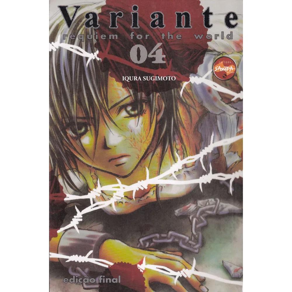 Variante - Requiem Fot The World - Volume 04 - Usado