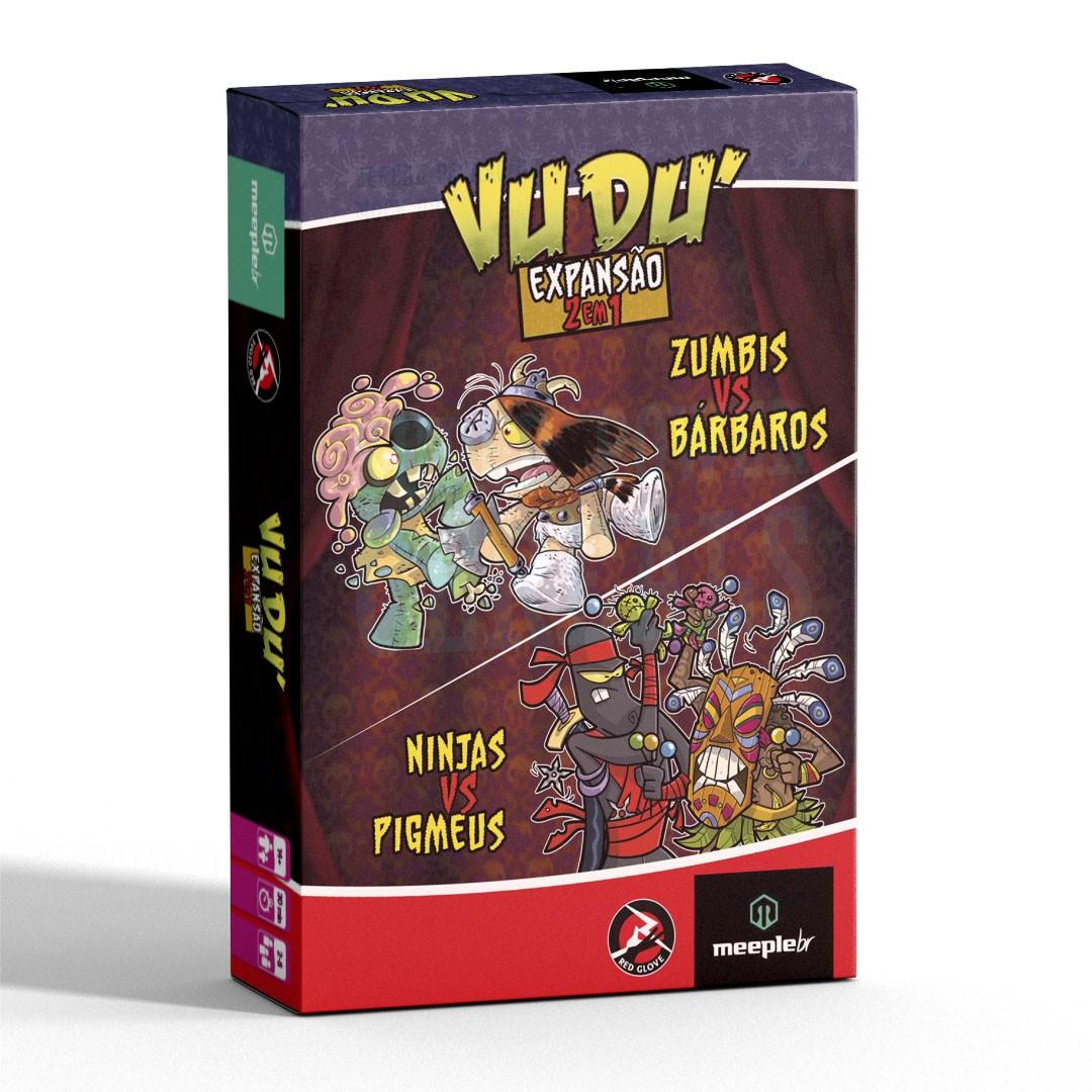 Vudú - Zumbis vs Bárbaros / Ninjas vs Pigmeus - Expansão 2 em 1