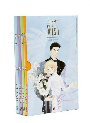 Wish 1 ao 4 - Coleção Completa - Box