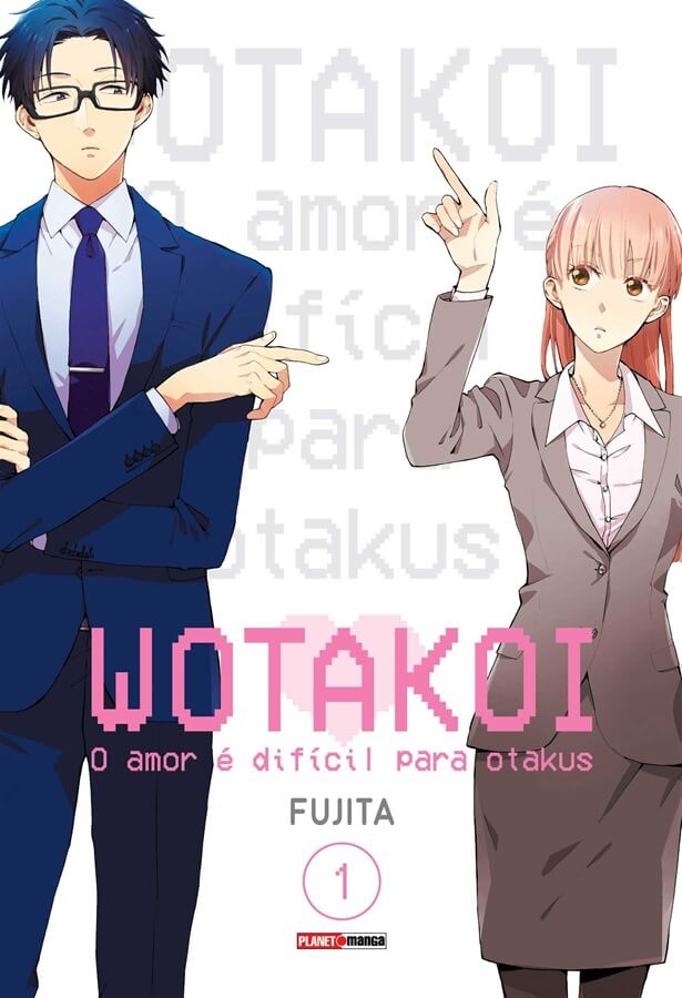 Wotakoi - O Amor é difícil para Otakus - Volume 01