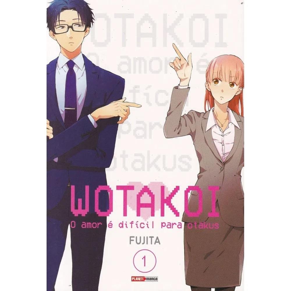 Wotakoi - O Amor é difícil para Otakus - Volume 01 - Usado