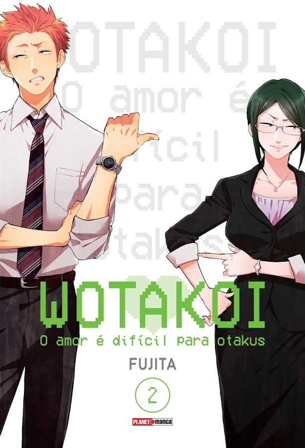 Wotakoi - O Amor é difícil para Otakus - Volume 02