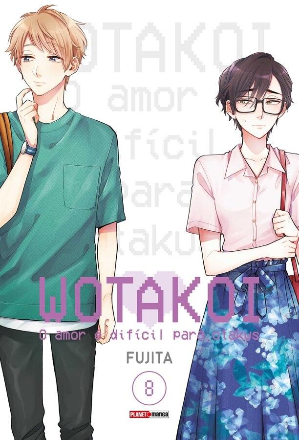 Wotakoi - O Amor é difícil para Otakus - Volume 08 - Usado