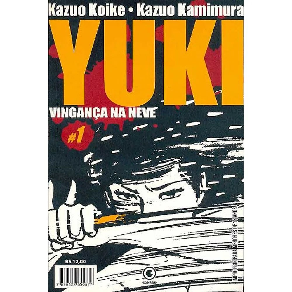 Yuki Vingança na Neve - Volume 01 - Usado
