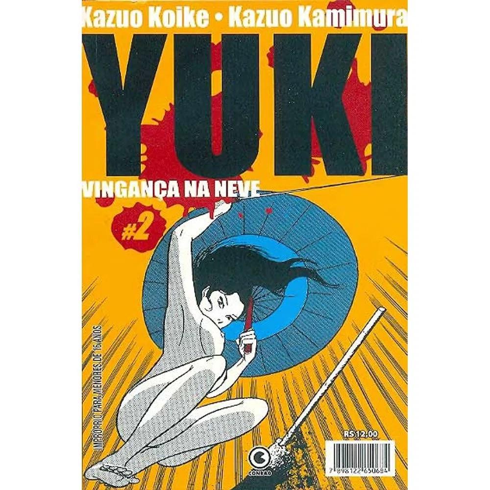 Yuki Vingança na Neve - Volume 02 - Usado