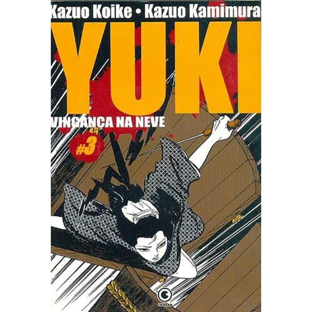Yuki Vingança na Neve - Volume 03 - Usado