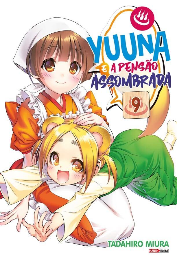 Yuuna e a Pensão Assombrada - Volume 09 - Usado