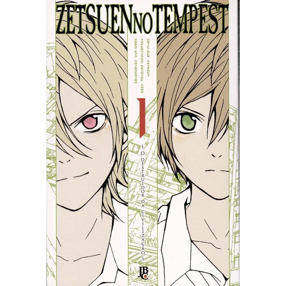 Zetsuen no Tempest - Volume 01 - Usado