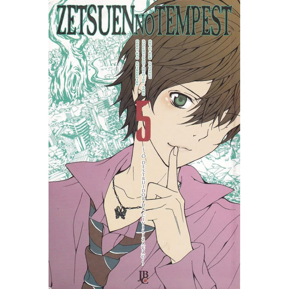 Zetsuen no Tempest - Volume 05 - Usado