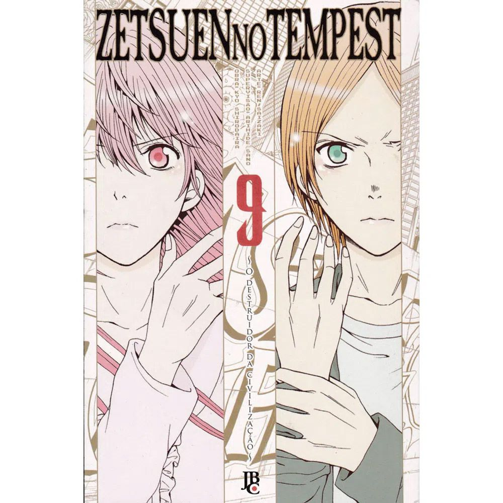 Zetsuen no Tempest - Volume 09 - Usado