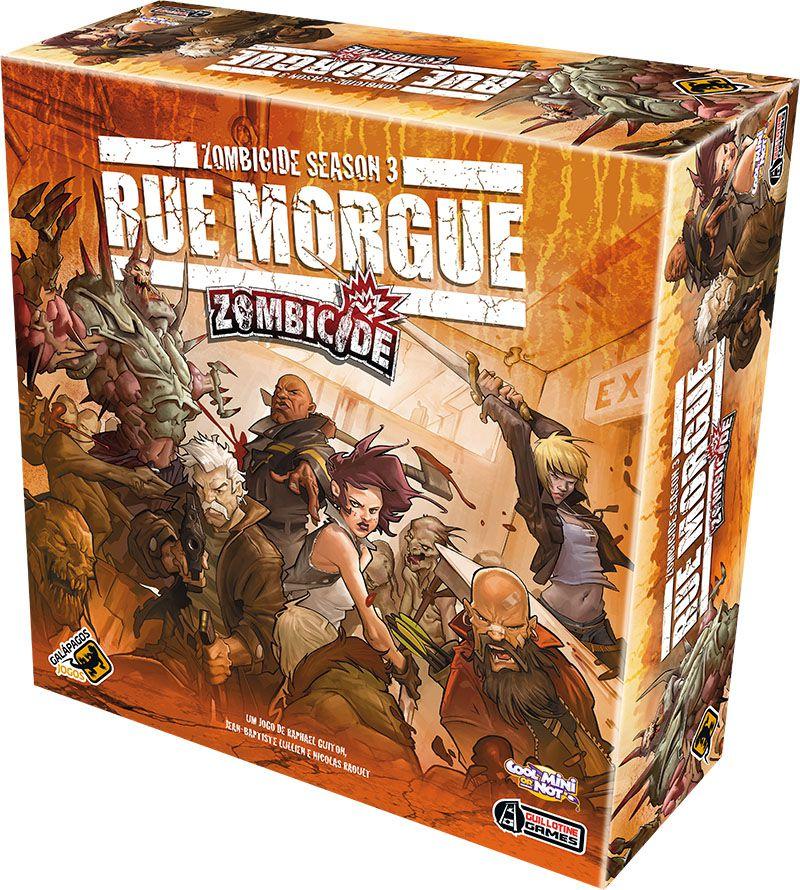 Zombicide Rue Morgue - Season 3