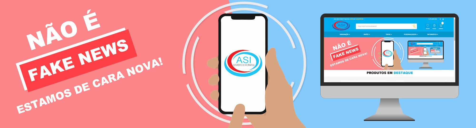 Bem-vindo a nova ASI Suprimentos de Informática