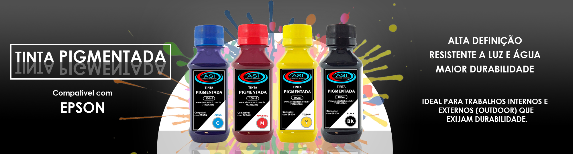 tinta pigmentada asi