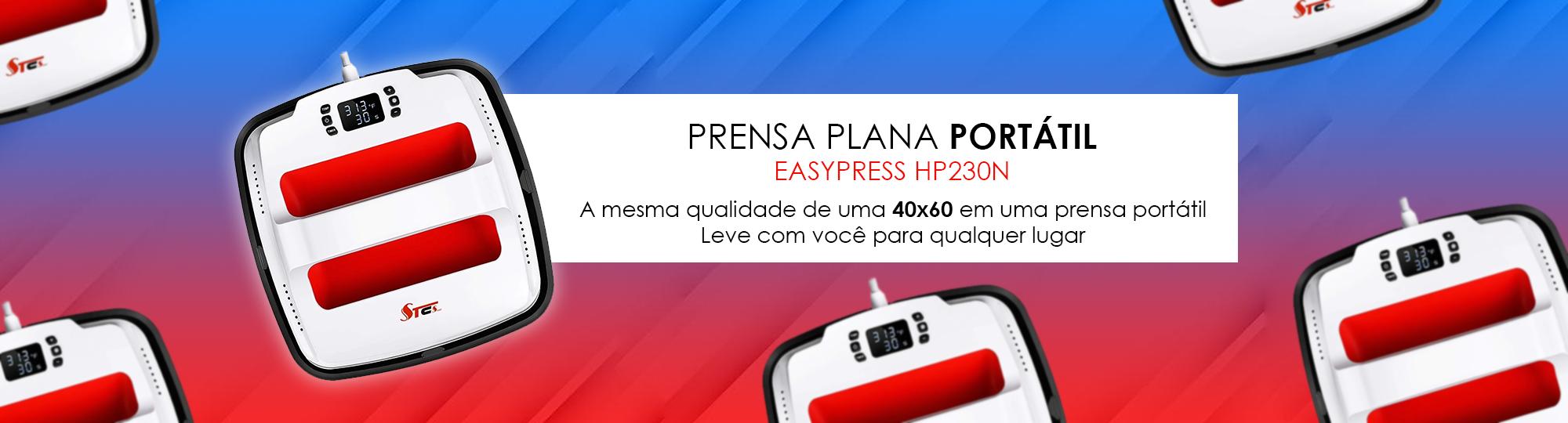 Prensa Plana Portátil