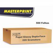 Caixa de Papel Dupla-Face Glossy A3 220G 25 Pacotes