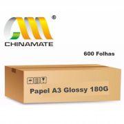 Caixa de Papel Glossy A3 180G 600 folhas